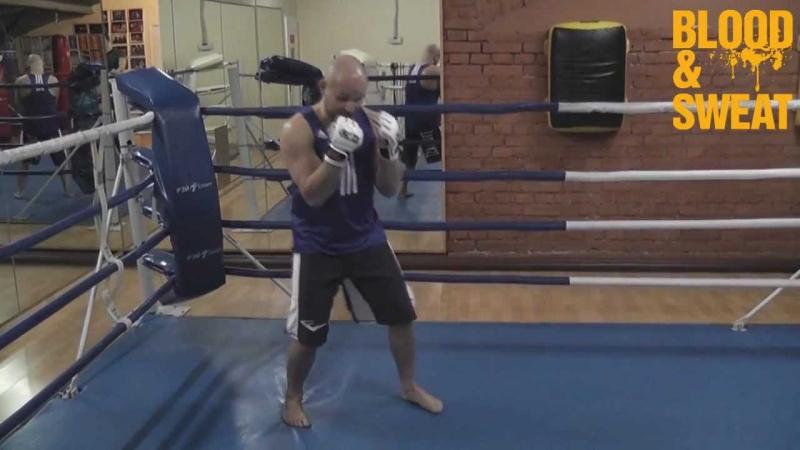Бокс Бить как Ник Диас Игорь Смольянов Boxing How to punch like Nick Diaz