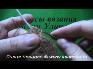 Варежки - 3 часть - Knitting mittens spokes - вязание спицами