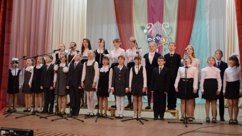 Хор Пильнинская ДШИ Детство финал конкурса Светлячок-2016