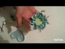 Скабиоза из фоамирана . Мастер-класс Ели Бунеску