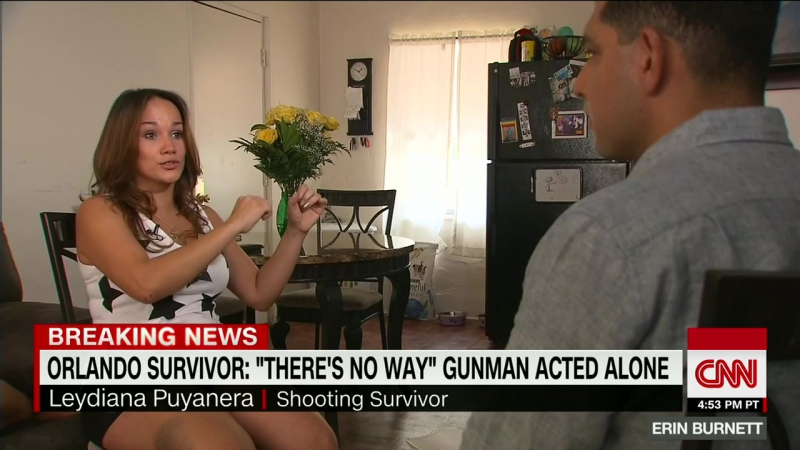 News Report Orlando Survivor There's No Way Gunman Acted Alone Intermediate