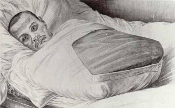 Геннадий Добров рисовал тех, кто пережил Великую Отечественную войну.