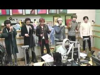 [RADIO] 151126 KBS Cool FM «Super Junior Kiss the Radio»: B.A.P - Young, Wild & Free (LIVE)