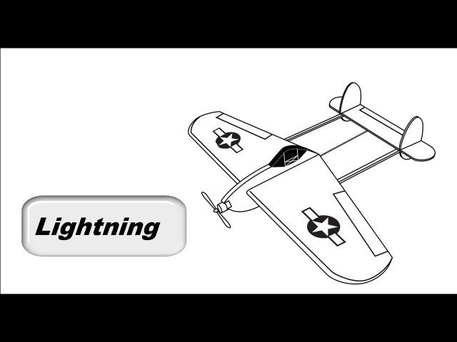Модель самолета рама из потолочки 79