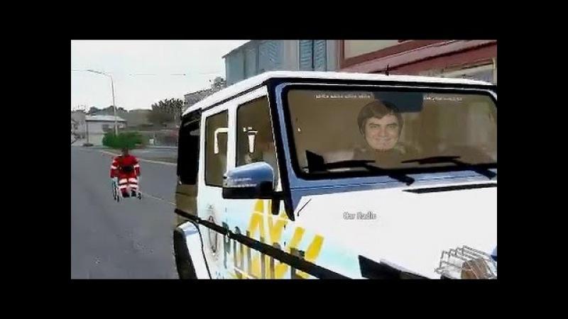 Мэддисон играет в ARMA 3 life Идиот за рулем и в коляске