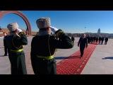Лукашенко с краткой экскурсией посетил мемориальный комплекс