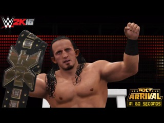 WWE 2K16: NXT Arrival in 60 Seconds!