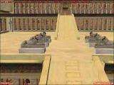 Deir el-Bahari temple for MS Flight Simulator