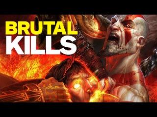 Top 10 Brutal God of War Kills