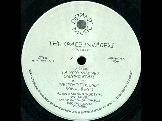 The Space Invaders - Westchester Lady