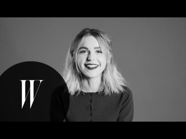 Kiernan Shipka on Mad Men, Harry Potter, and Air Bud | Screen Tests | W Magazine