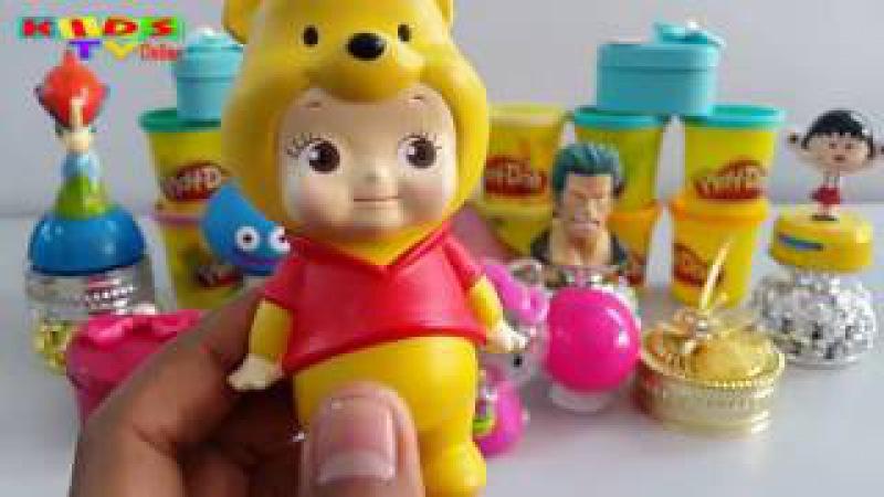 Play Doh Surprise Eggs Videos | Play-Doh Surprise Balls Videos | Egg Surprise Toys Videos For Kids