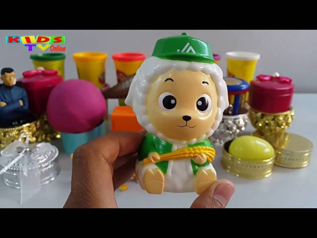 Play Doh Surprise Eggs Videos For Kids | Play Doh Surprise Balls Egg Surprise Toys Kids Video.