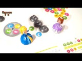 Детское видео для девочек Куклы Эмбер и София из мультика София Прекрасная играют в настольную игру