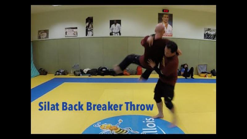 Silat Suffian Bela Diri - Silat Back Breaker
