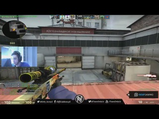 CS:GO - KennyS playing matchmaking on Cache