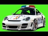 Eğitici Çizgi Dizi - Polis arabası, Yarış arabası, Ambulans ve Kamyon - Akıllı Arabalar