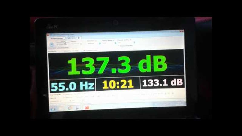 Тест Power Acoustik CS 10-600 в коробі рупор