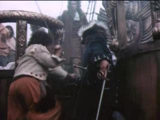 Взятие Левасёром на абордаж английского корабля (Одиссея капитана Блада)