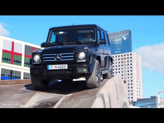 2016 Mercedes-Benz G-klasse - Offroad Demo Run
