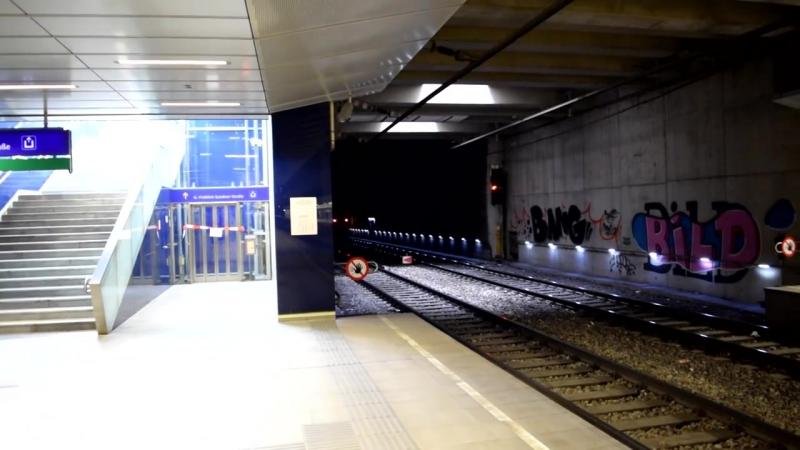 Zuge Wien Hbf (Bahnsteige 1-2)