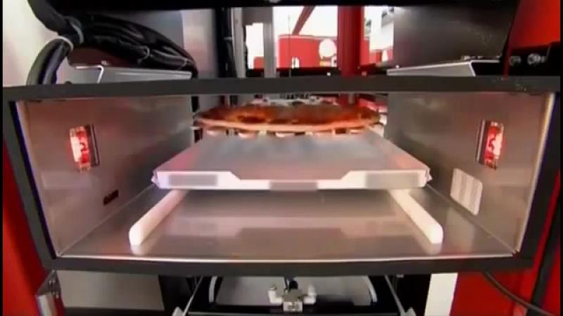 КАк это рабоает - Автоматы для пиццы