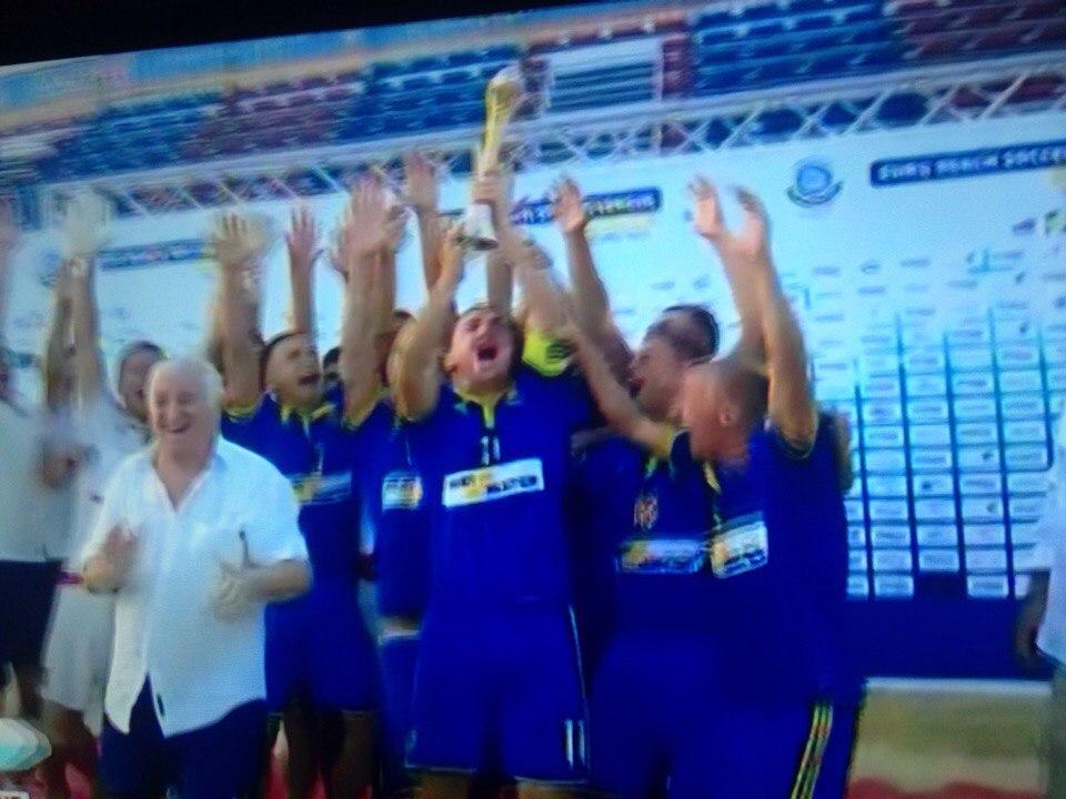 Сборная Украины по пляжному футболу стала чемпионом Евролиги - Цензор.НЕТ 3947