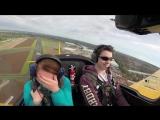 Пилот наводит ужас на друзей фигурами высшего пилотажа