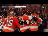 Claude Giroux game-winning goal - March 28th, 2016 NHL.