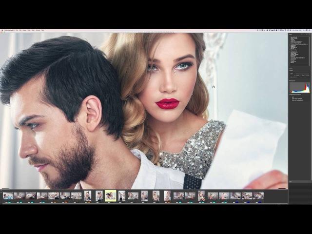 Урок по обработке в Photoshop.Быстрая ретушь портрета. Замена частотному разложению в фотошоп.