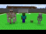 Minecraft Мультики - Школа монстров: Футбол (Майнкрафт Анимация)