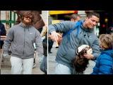 Криштиану Роналду 2015 переоделся бомжом и сыграл в футбол на площади Мадрида (полная версия) HD