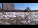 Ледоход на реке Тосна г Никольское 18 04 2013