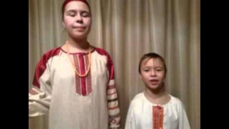На конкурс Дети читают стихи для Лабиринт.ру. Полина и Миша Абрамовы, г. Рязань