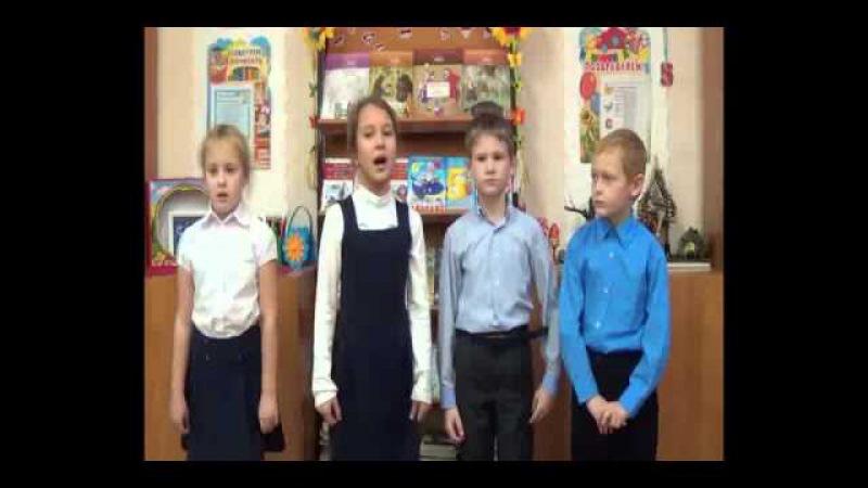 На конкурс Дети читают стихи для Лабиринт.ру. Макарова А., Попова И., Ручий Н., Харин А., Воскресенск