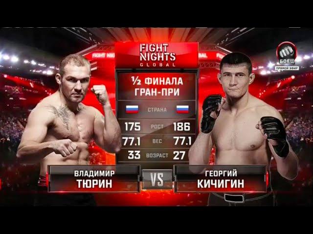 Владимир Тюрин vs Георгий Кичигин Vladimir Tyurin vs Georgy Kichigin