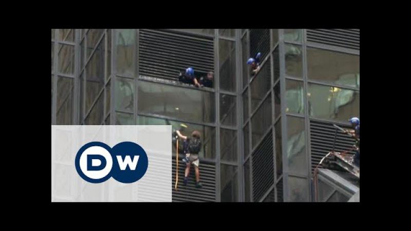 На хмарочос Трампа в Нью-Йорку видерся альпініст