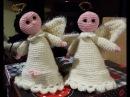 Angioletto all'uncinetto - bomboniera comunione - angel crochet -