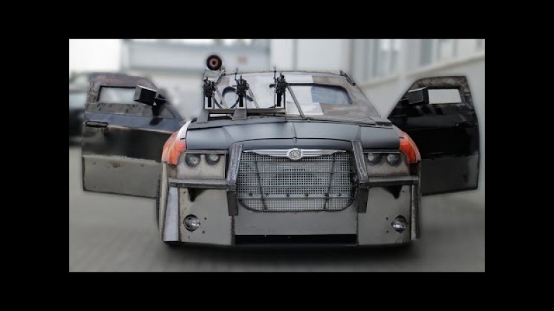 Ride To Die For Movie Buff Builds Fearsome 'Death Race' Replica Car
