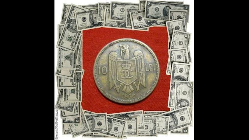 Coin Romania 10 Leu 1930 10 lei Carol 2 regele Romanilor / numismatic news