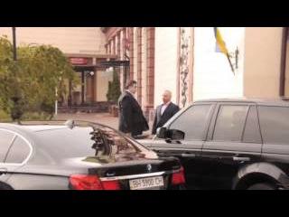 Видео, из-за которого Аваков облил Саакашвили водой