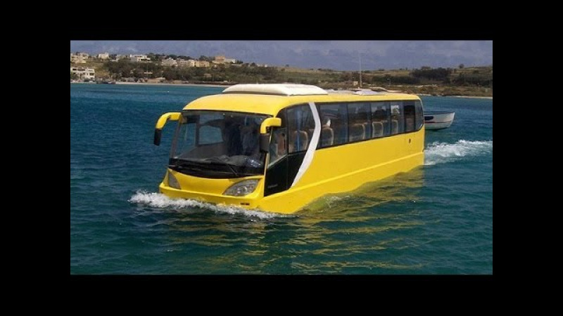 7 Outrageous Amphibious Vehicles You Have To See