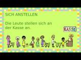 Deutsch lernen: 32 reflexive Verben (apprendre lallemand: les verbes reflexives)