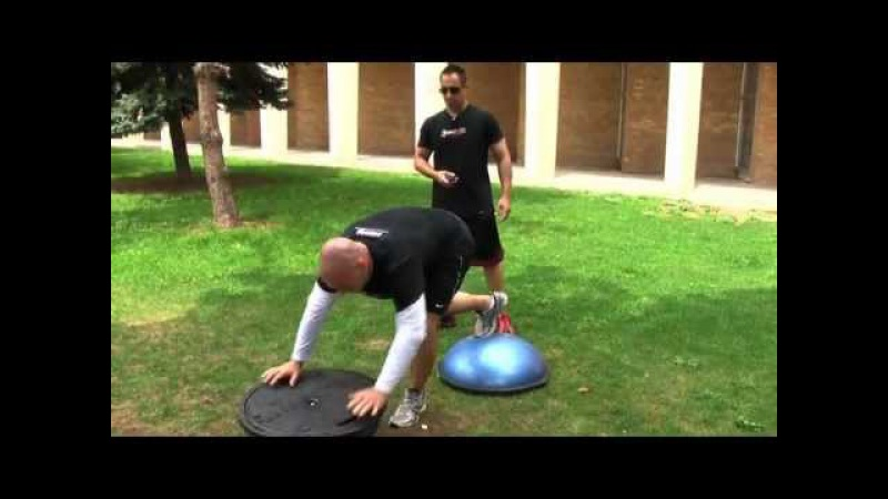 MMA Workout - Extreme Conditioning Bosu Training - Train like a MMA Fighter