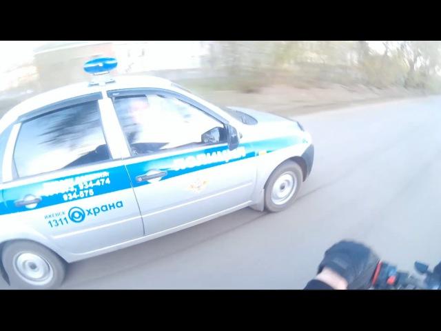 Погоня ППС за мотоциклом