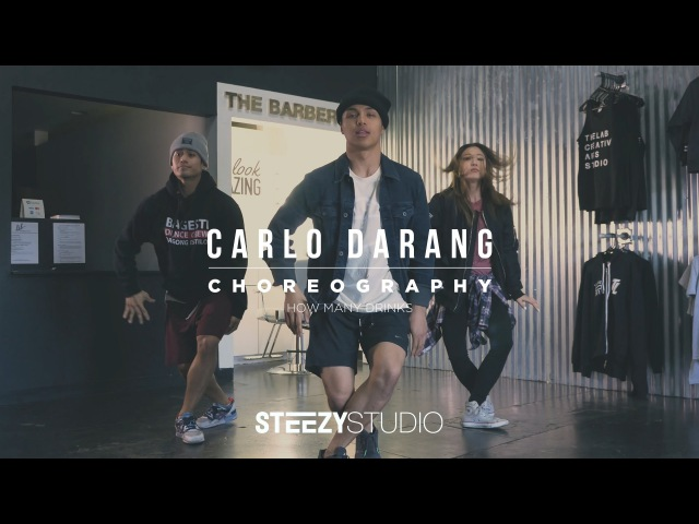 Carlo Darang Choreography | How Many Drinks | STEEZY Studio