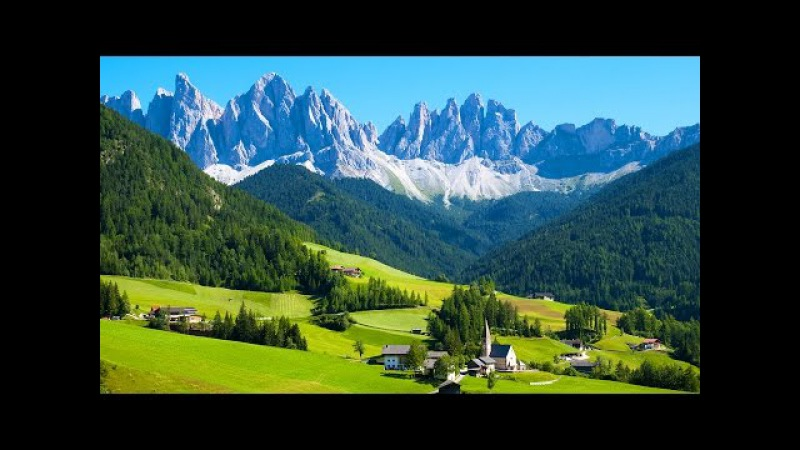 Прекрасная Швейцария в 4К качестве
