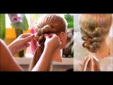 Плетение Французской Косы Наоборот На Себе (Видео-Урок). Reverse French Braid Itself Tutorial