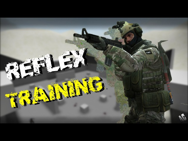 CS:GO - Fast Aim/Reflex training