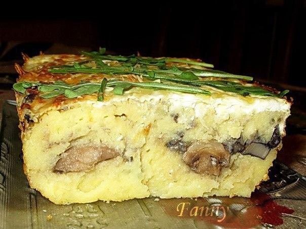 Рецепты запеканок с грибами в мультиварке